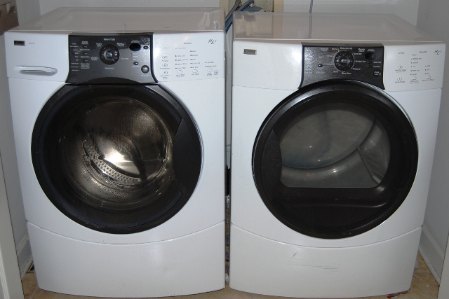Kenmore Elite He3 Front Load Washer Dryer In Lewis