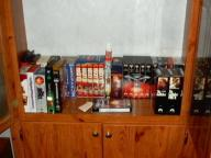 VHS Movies with Storage Cabinets