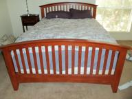 Queen Bed Frame - Mission Style