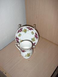 Royal Windsor Fine Bone China Tea Cup and Saucer