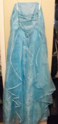 Lt. Blue Prom dress