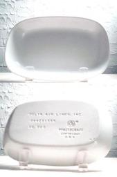 Delta Airlines Rectangular Plate