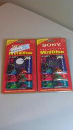 Sony Recordable MiniDiscs-6 Pack, 74 minutes each