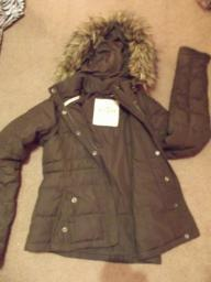 Hollister Winter Jacket (Faux Fur Hood)