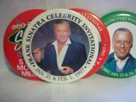 Frank Sinatra Golf badges