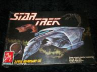 Star Trek 3 Piece Adversary Set Model Kit. '89
