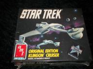 Star Trek Original Edition Klingon Cruiser Model Kit. '91