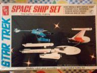 Space Ship Set Snap-together  Star Trek '83