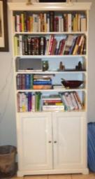 White Ikea Bookcases (set of two)
