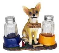 El Caliente Chihuahua Salt & Pepper Shakers