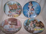4 -DANBURY MINT COLLECTORS PLATES - YOUNG INNOCENCE COLLECTION
