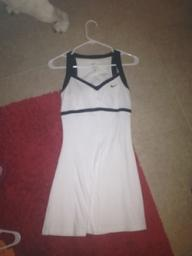 White & Black NIke Tennis Dress