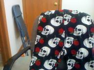 skull lounge pants