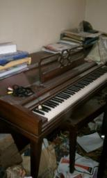 1970s Cable Nelson Spinnett Upright Piano