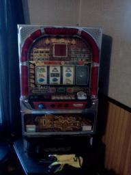 Slot machine uses tokens