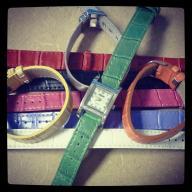 interchangeable band watch set