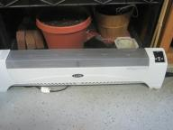 Electric baseboard space heater 1500 watts