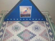 Light of Freedom Flag by Thomas Kinkade