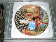 Avon 2009 African American Collectible Christmas Plate