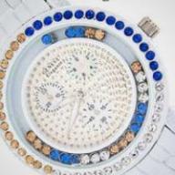 New Geneve Elegante Designer Timepiece - White Brass