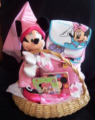 Minnie Mouse - Large Baby Basket - Gift