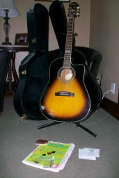 Gibson Epiphone Acoustic/Electric Guitar