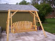 Wooden Outdoor/Garden Swing