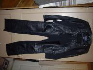 Ladies 2 piece leather riding outfit
