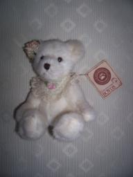 Boyds Bears Small White Bear