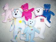 Ty Beanie Bears and Beanie Bear Babies