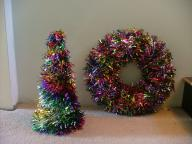 NWT Christmas wreath and matching tree