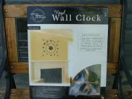 Vinyl Wall Clock (NIB)