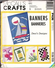 McCall's Crafts Banners Flags Pattern