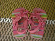 Girl Flip Flops Size 6/7