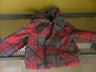 CUTE Plaid Coat 2t (girls)
