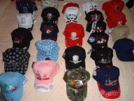 Variety of Caps