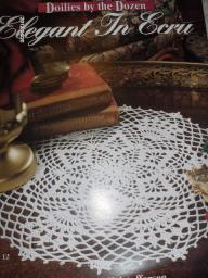 Doilies by the Dozen Elegant in Ecru Crochet Patterns