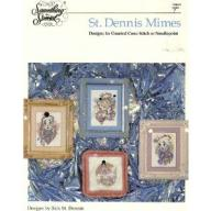 Cross Stitch Pattern or Needlepoint St. Dennis Mimes