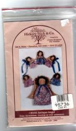 Antique Angels Door Decoration, treetop ornament sewing pattern