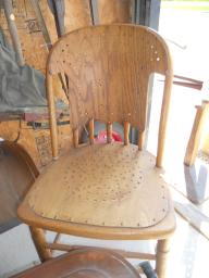 2 old Chairs priced each
