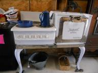 Hot Point Electric Stove Antique