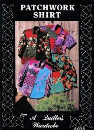 Patchwork Shirt from A Quilter's Wardrobe w/Buttons