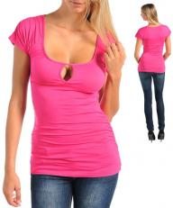 Sexy Bright Fun Pink Top - Clubbing - M, L