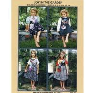 Joy in the Garden Children't jumpers Pattern