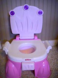 Princess potty chair w/ music (batteries included)