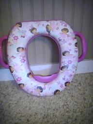 Dora portable potty seat