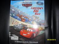 BRAND NEW!!!! Lightning's Big Race Sticker Activity Hardcover Sto