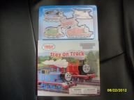 BRAND NEW!!!! Thomas the Train Stay on Track Hardcover book with