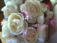Avon Fiber Optic Weddin Bouquet