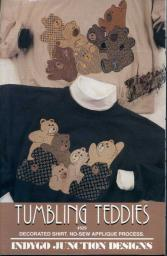 Tumbling Teddies Indygo Junction Designs